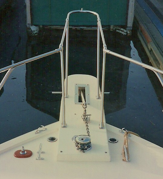 Fiberglass Anchor Pulpit-5