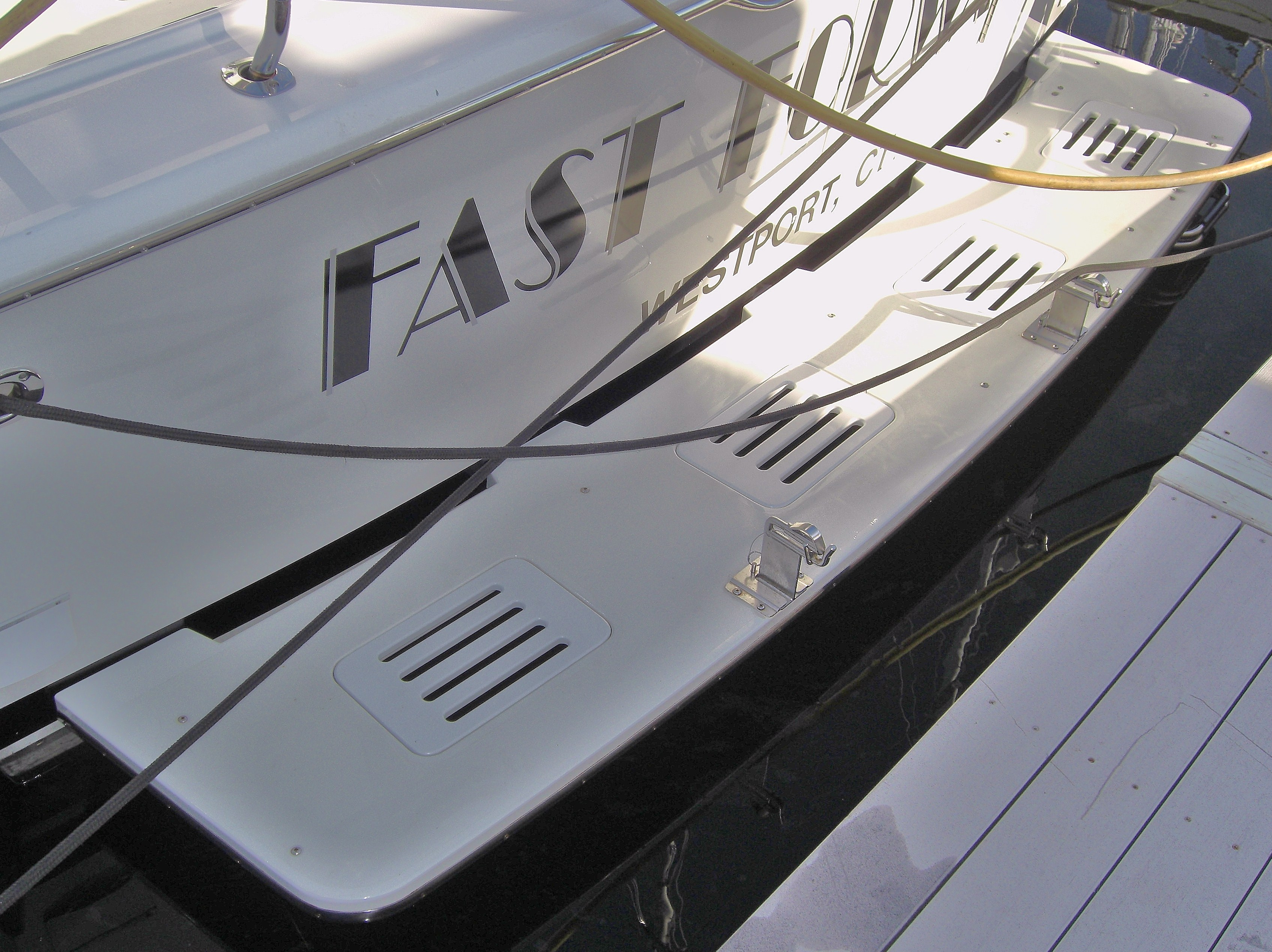 Fiberglass Transom Platforms-1